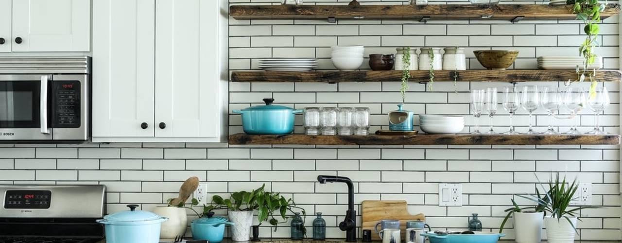 3BHK Flat @ Sarjapur Redpost Interiors Modern kitchen