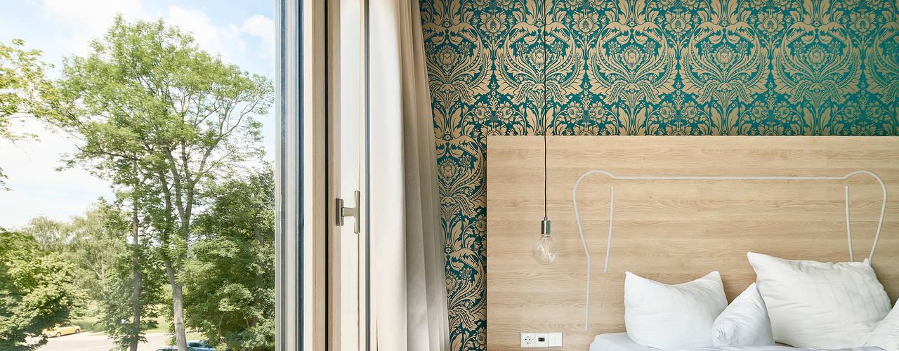 Parkhotel Schillerhain - Erweiterung Moderne Hotels von Steffen Wurster Freier Architekt Modern
