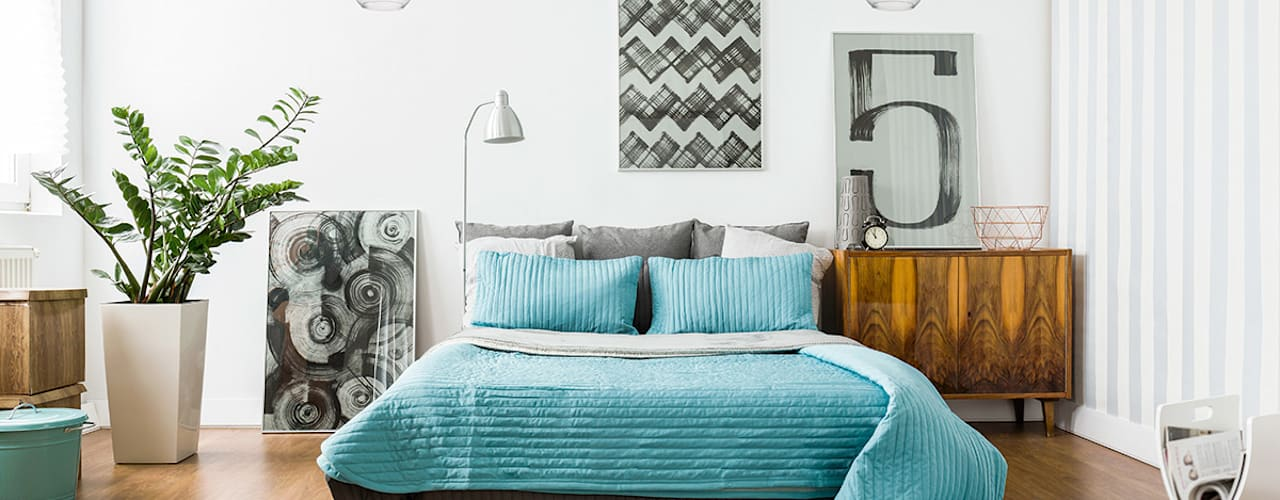 Bedroom's inspiration decorated by lighting from LuxuryChandelier.co.uk by Luxury Chandelier Modern