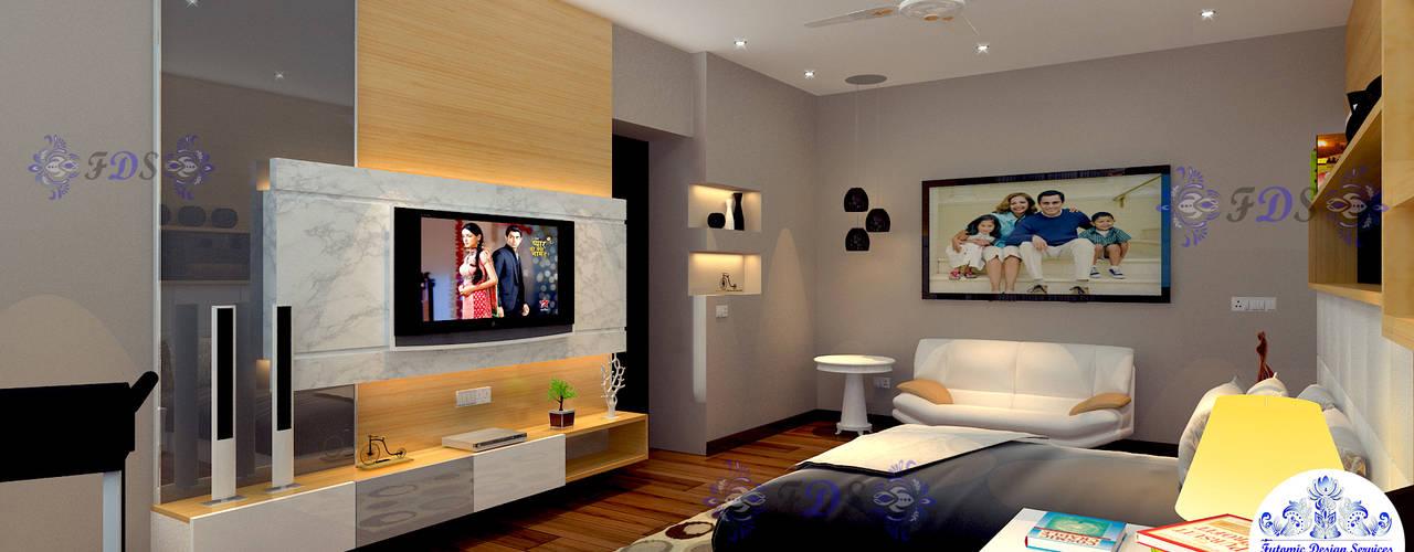 Minimalist Style Interiors for Gurgaon Apartment By Futomic by Futomic Design Services Pvt. Ltd. Minimalist
