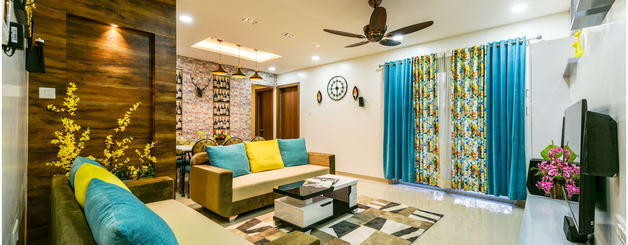 2 bhk flat project: classic  by Shubhchintan Design possibilities,Classic