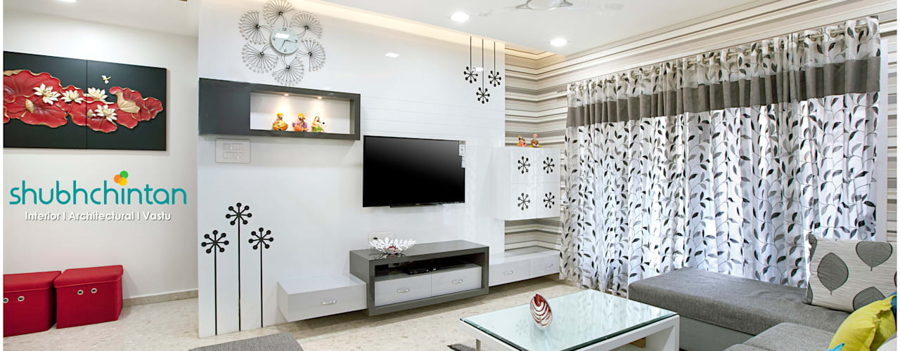 3BHK FLAT : modern  by Shubhchintan Design possibilities,Modern