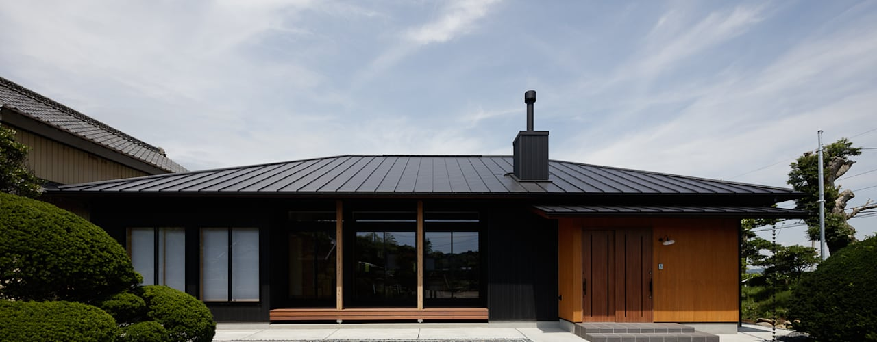 古民家リノベーションの家/ Renovated Traditional Japanese House 株式会社 井川建築設計事務所 モダンな 家