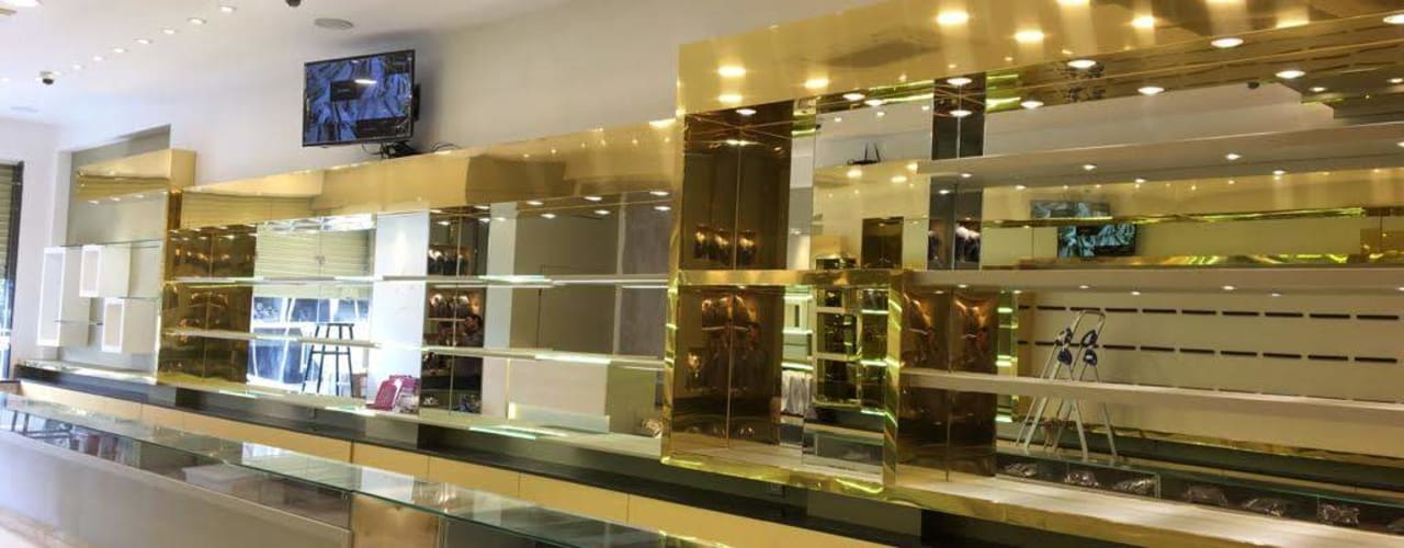 Praveen Jewellers|RR Nagar|Commercial Interior Asian style walls & floors by DezinePro Asian