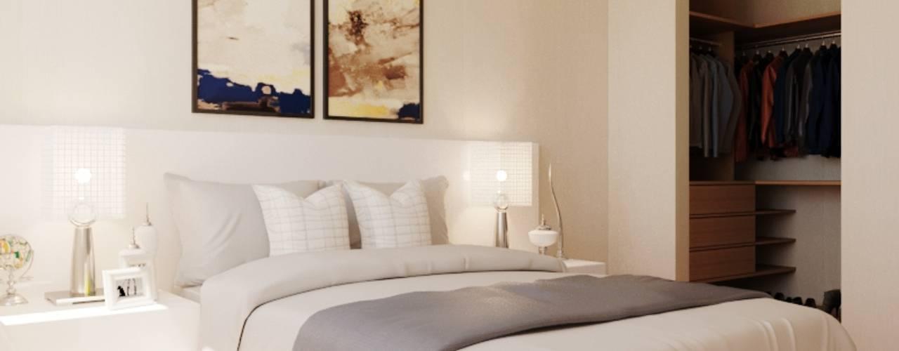 Dormitorios de Ideas3dperu Moderno