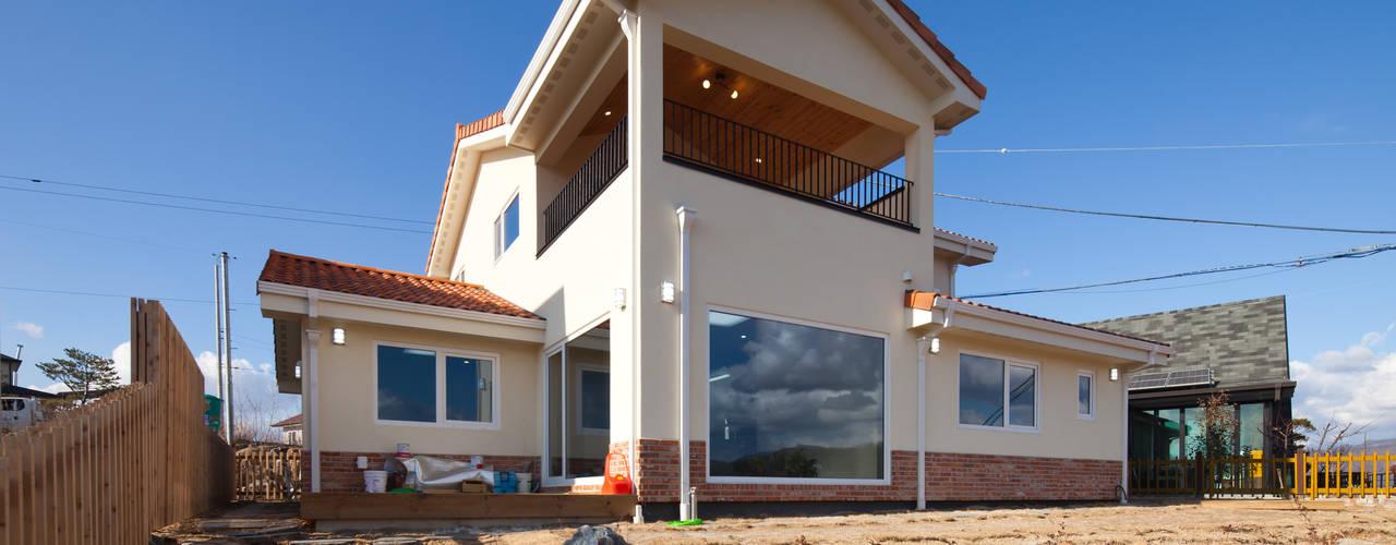 [연천목조주택]연천군 청산면 궁평리에 위치한 탁트인 전망을 자랑하는 목조주택 by 위드하임 북유럽
