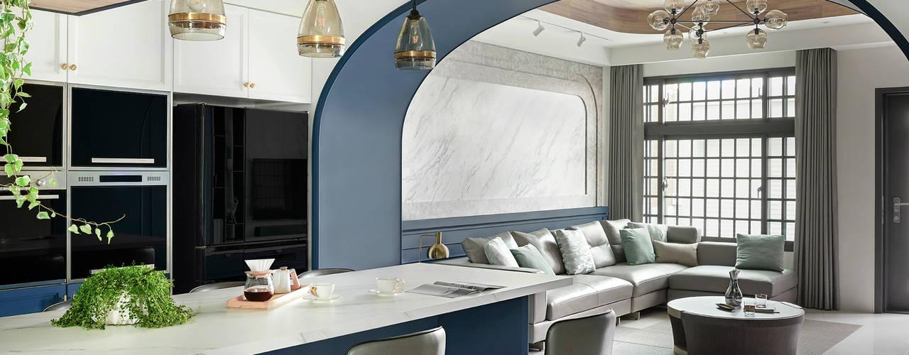 與晴共室: 斯堪的納維亞  by 漢玥室內設計, 北歐風