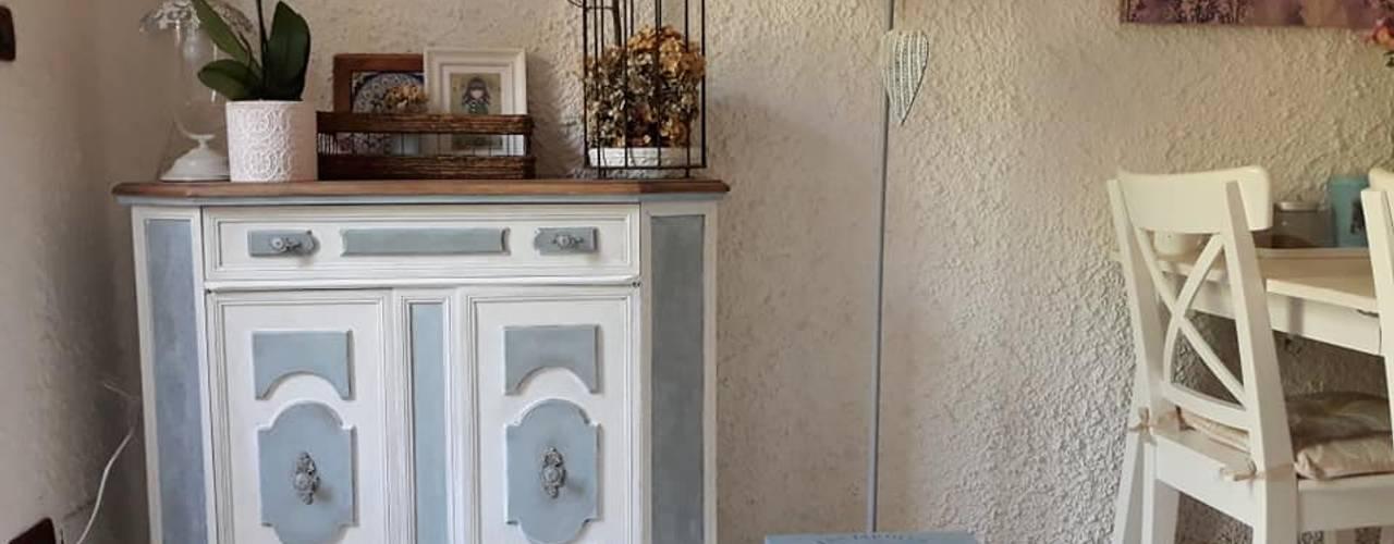 Trasforma i tuoi mobili vecchiotti in stile shabby! di Mobili a Colori Mediterraneo