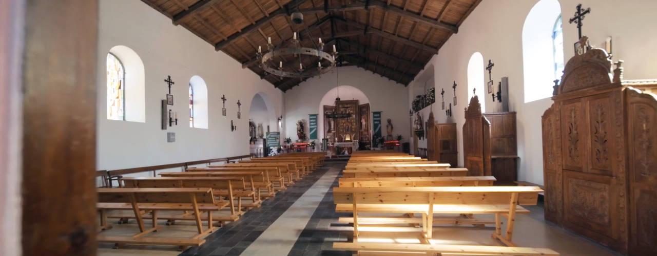 La iglesia de San Tirso en Palas de Rei (Lugo) y el problema de capilaridad de sus muros de Murprotec Rural