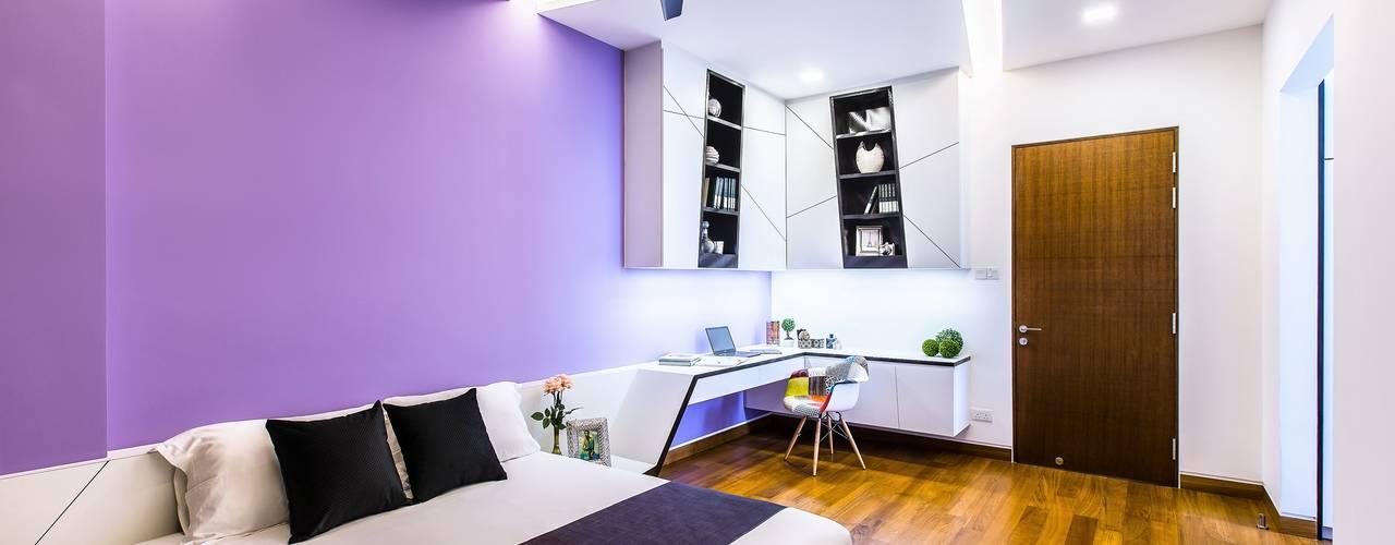 Trevose Crescent Modern style bedroom by Summerhaus D'zign Modern