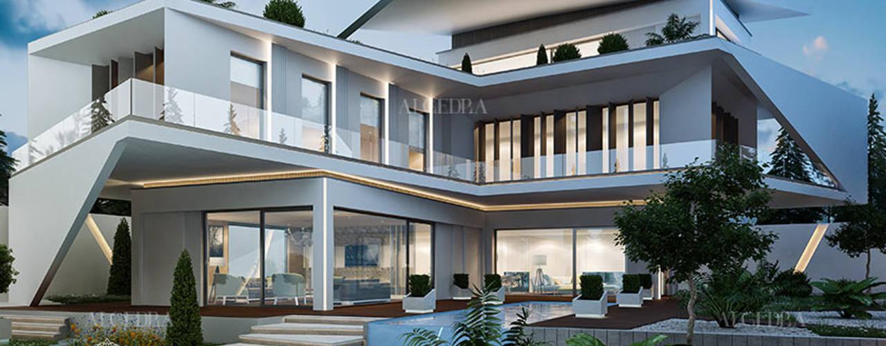 تصميم فيلا فاخرة على الطراز الحديث في إسطنبول من Algedra Interior Design حداثي