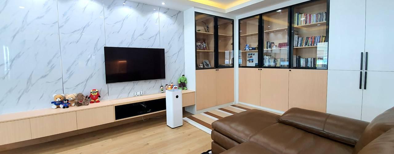 บ้านท่าข้าม: ทันสมัย  โดย BAANSOOK Design & Living Co., Ltd., โมเดิร์น