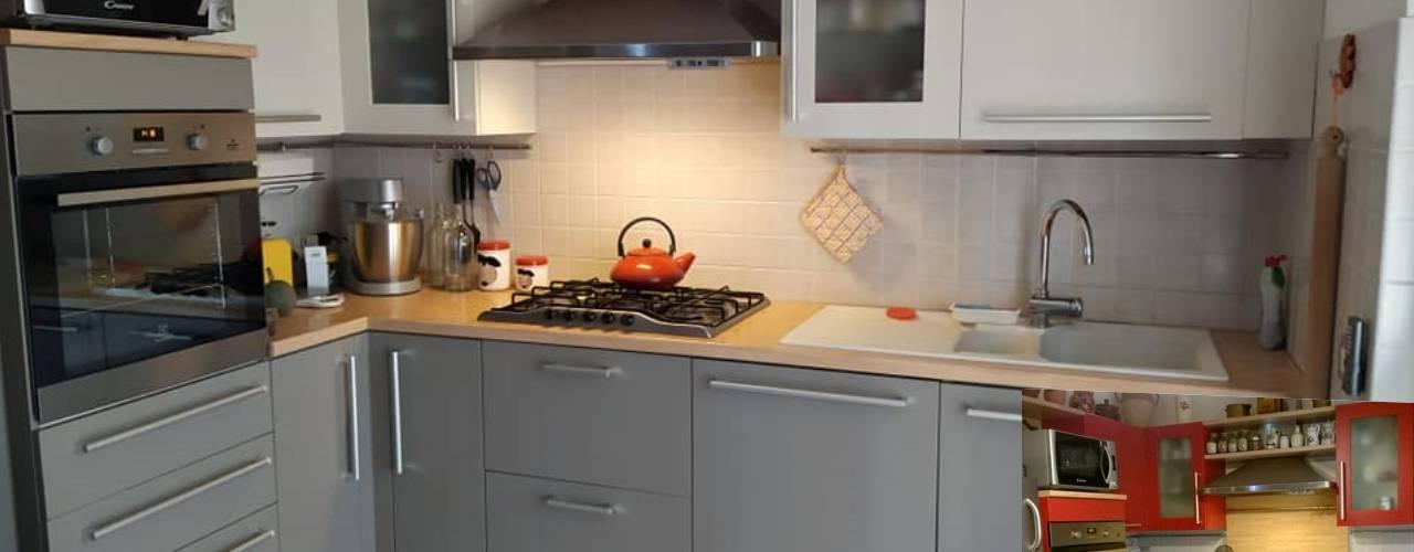 Trasformazione Cucina Datata Con Prodotti Autentico Paint Homify