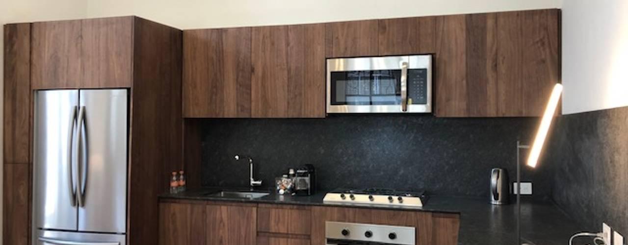 Proyecto Aguascalientes 83. de MOKALI Carpintería Residencial Moderno