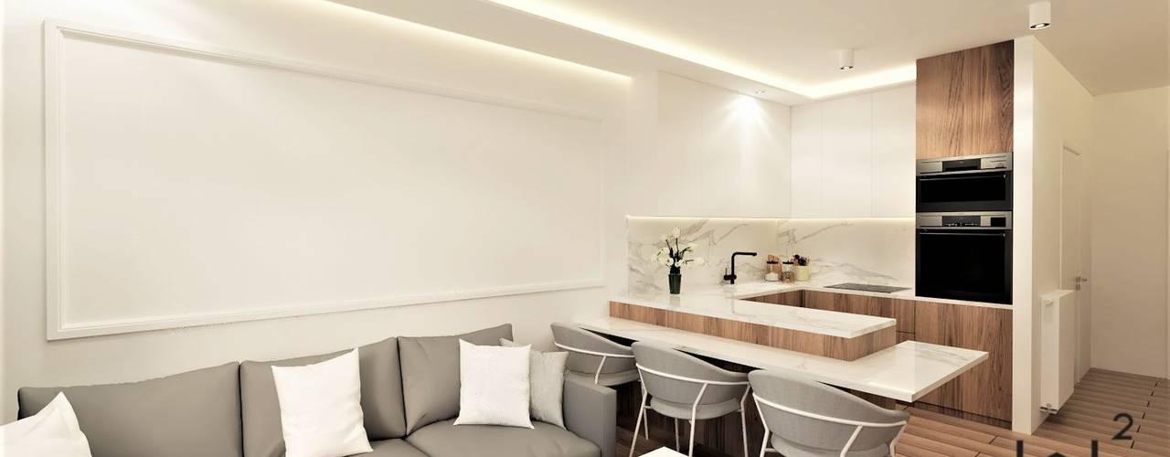 Mieszkanie na wynajem od Wkwadrat Architekt Wnętrz Toruń Klasyczny