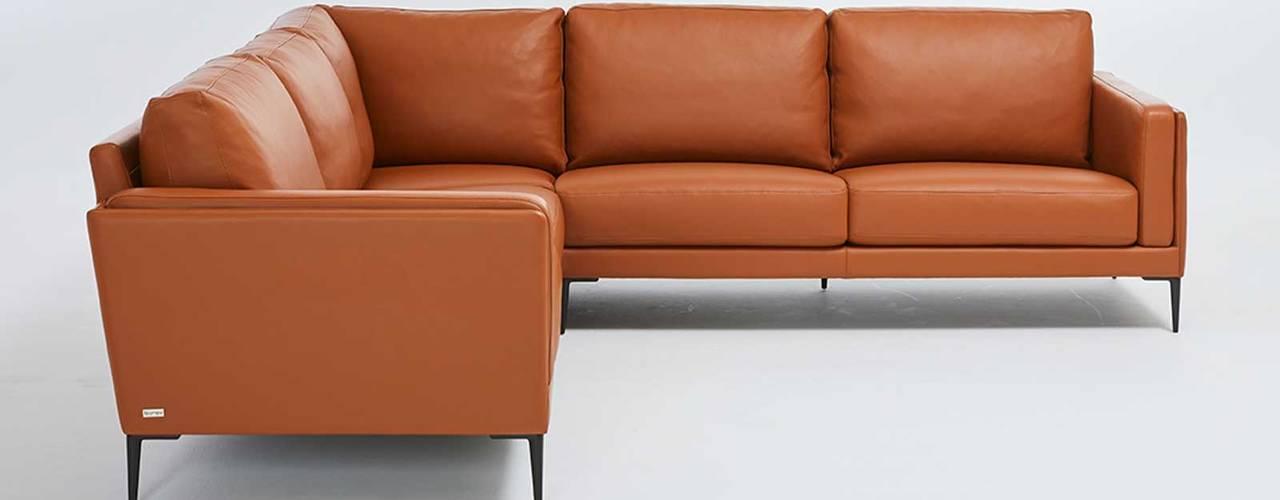 Canapés haut de gamme de fabrication française par Imagine Outlet Moderne