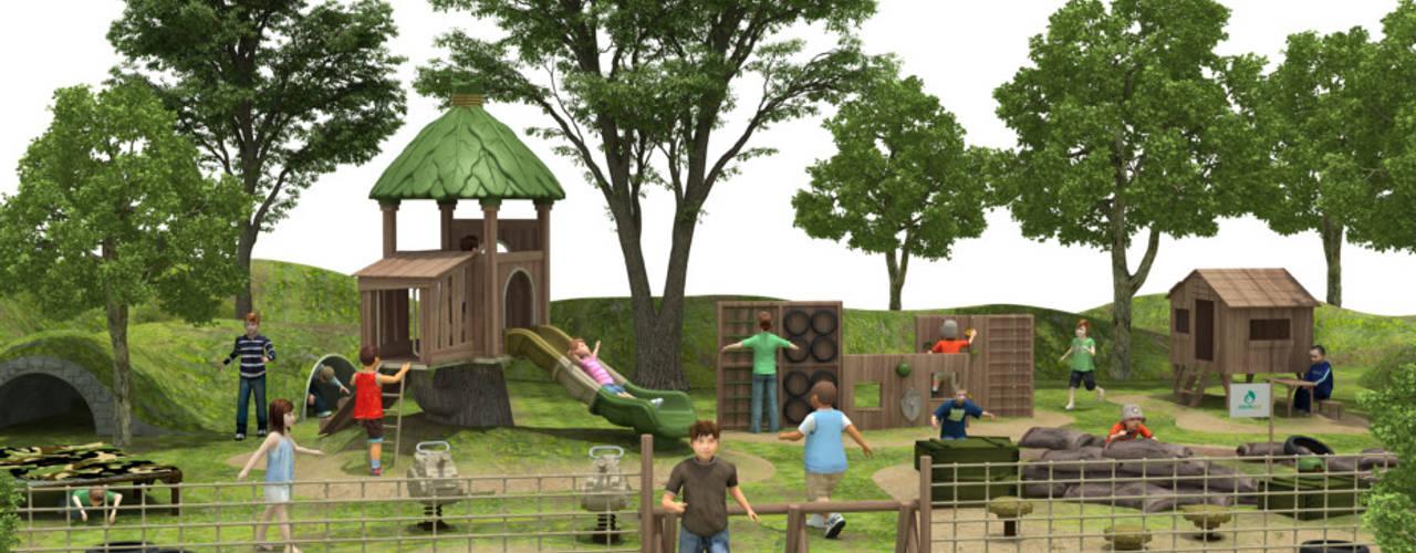 Diseño de juegos infantiles de ACG Construcciones