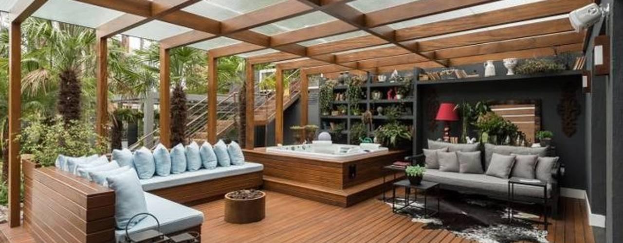 Cambio de Policarbonato | cambiodepolicarbonato.cl Eclectic style balcony, veranda & terrace