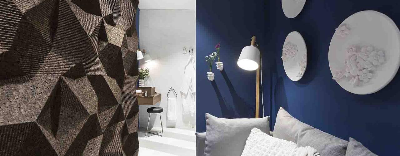 Biosughero, la scelta naturale. Biosughero Camera da letto moderna Sughero Marrone