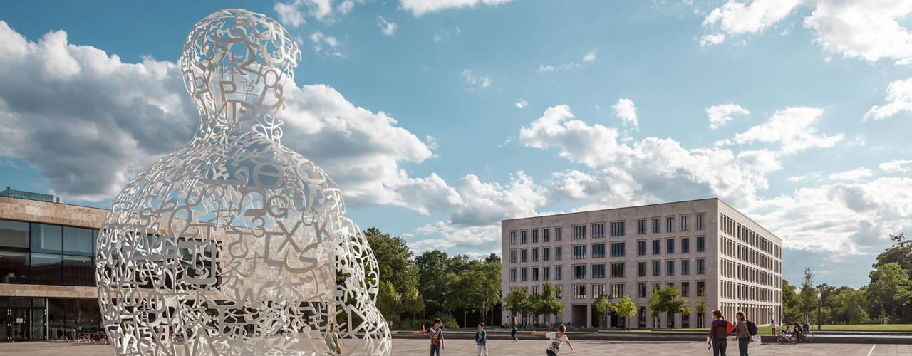 Campus Westend / House of Finance Moderne Schulen von Lars Gruber Architekturfotografie Modern
