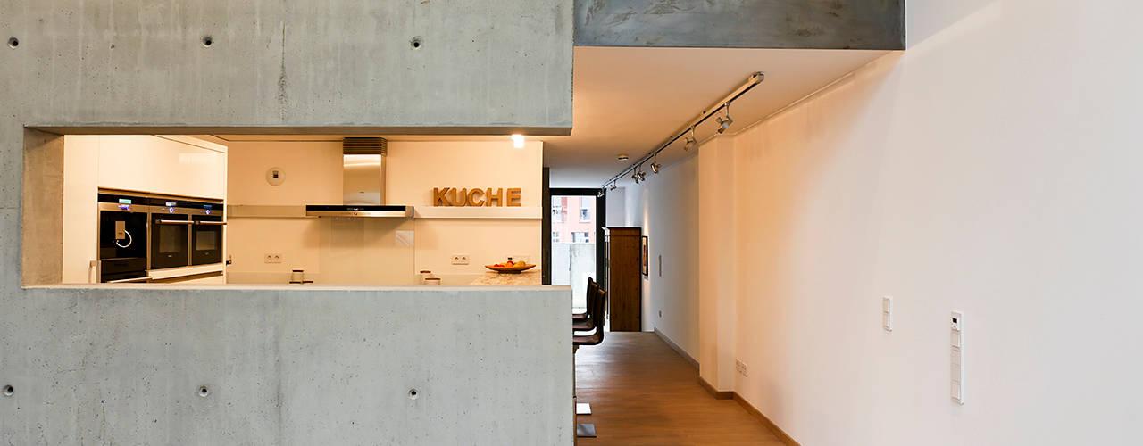Loft im ehemaligen HANOMAG-Gebäude Hannover von Elke Schmidt Fotografie Industrial