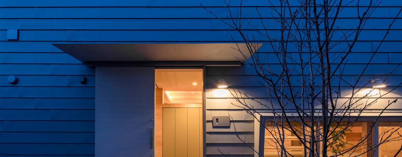 ハコフネ group-scoop 二世帯住宅 金属 灰色