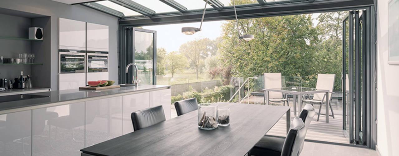 woonhuis // Amstelveen Moderne serres van Studio FLORIS Modern
