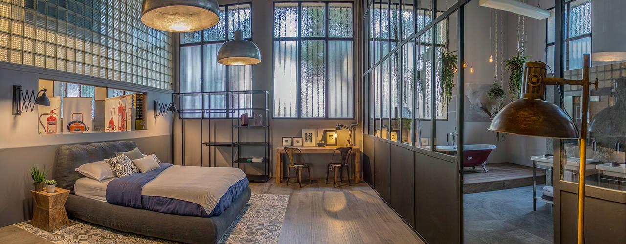 Badalona Home Design David Rius Serra Dormitorios de estilo industrial