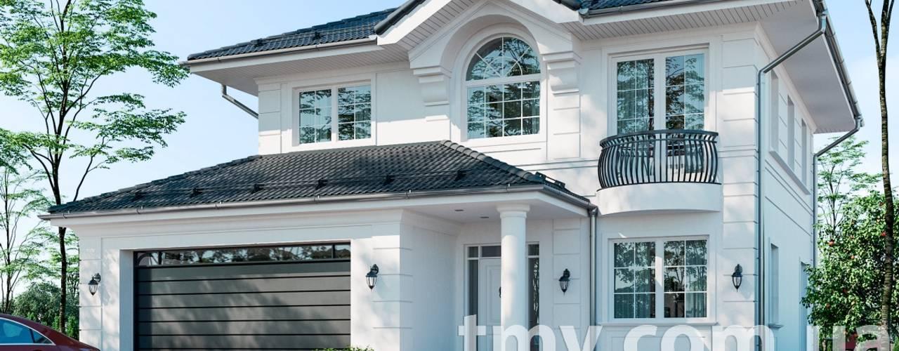 Проект двухэтажного особняка TMV 11 от TMV Architecture company