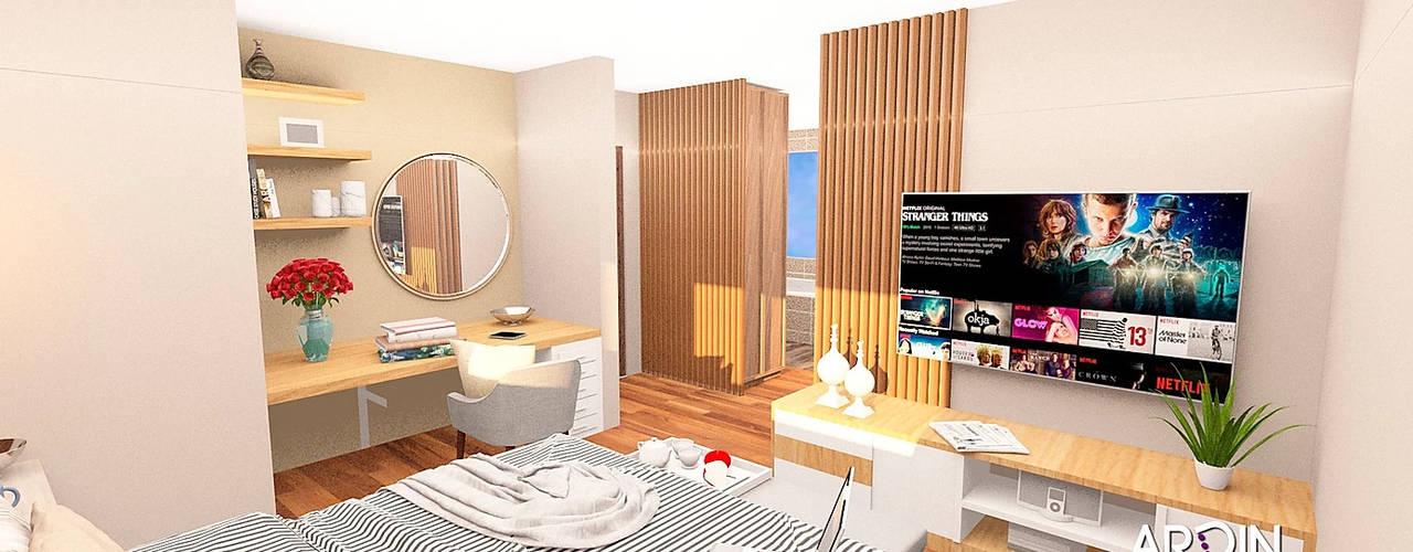 Cedros ARDIN INTERIORISMO Dormitorios modernos