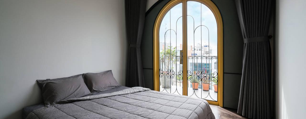 SHIFT houses AD+ Phòng ngủ phong cách nhiệt đới