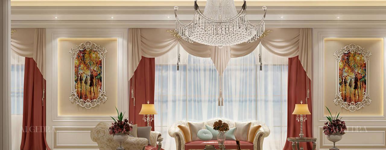 تصميم فيلا على الطرا الكلاسيكي من Algedra Interior Design كلاسيكي