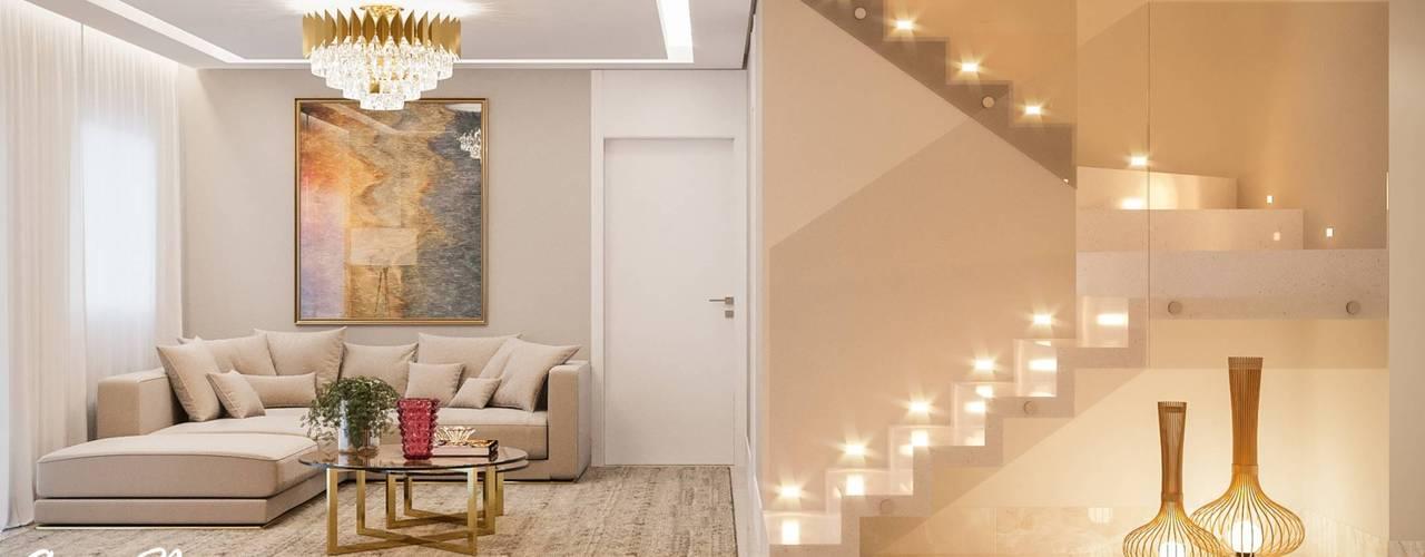 Projeto Apartamento São Paulo por Camila Pimenta | Arquitetura + Interiores Moderno