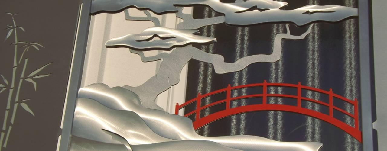 Japanisches Edelstahl Balkongeländer. von Edelstahl Atelier Crouse: Asiatisch
