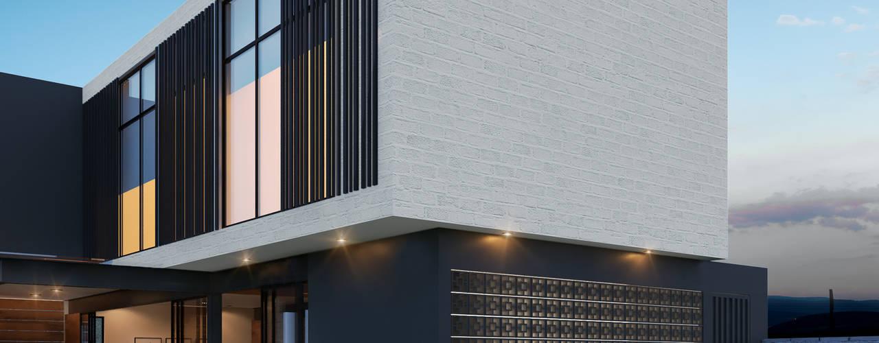 Residencia LD [León, Gto.] de 3C Arquitectos S.A. de C.V. Moderno