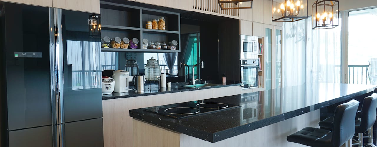 Armanee Terrace II Modern style kitchen by Infinite Intelligence Sdn Bhd Modern
