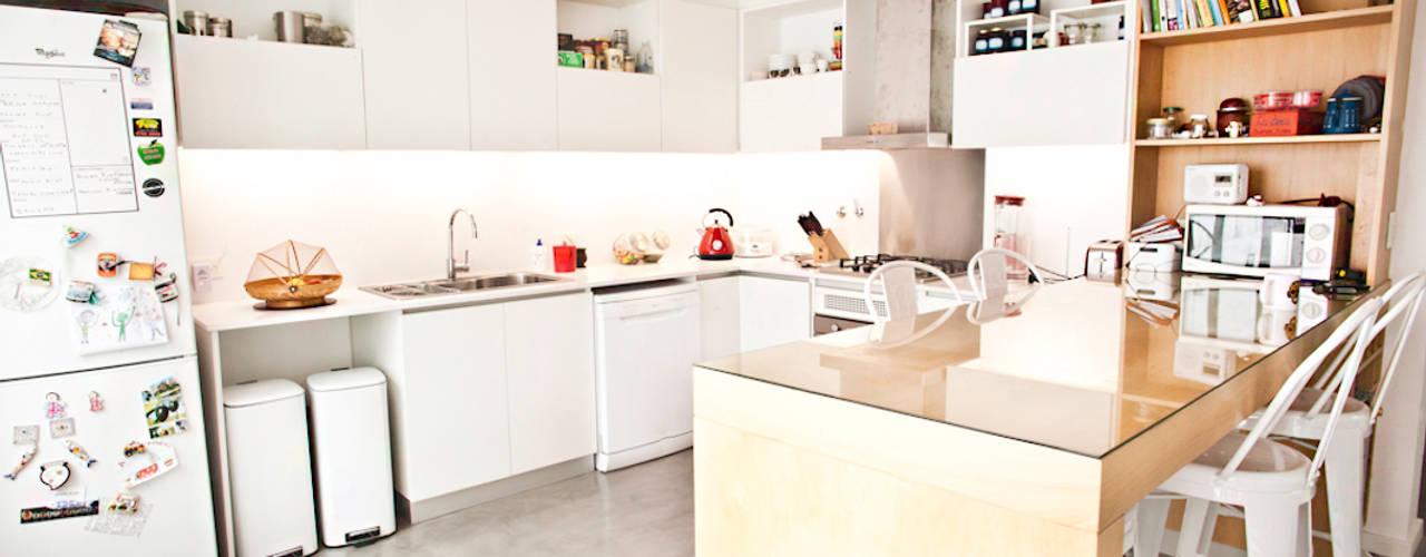 Reforma de una casa. Ba75 Atelier de Arquitectura Cocinas a medida