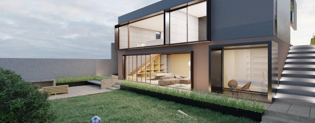 Casa Luden de Boom Taller de Arquitectura Moderno