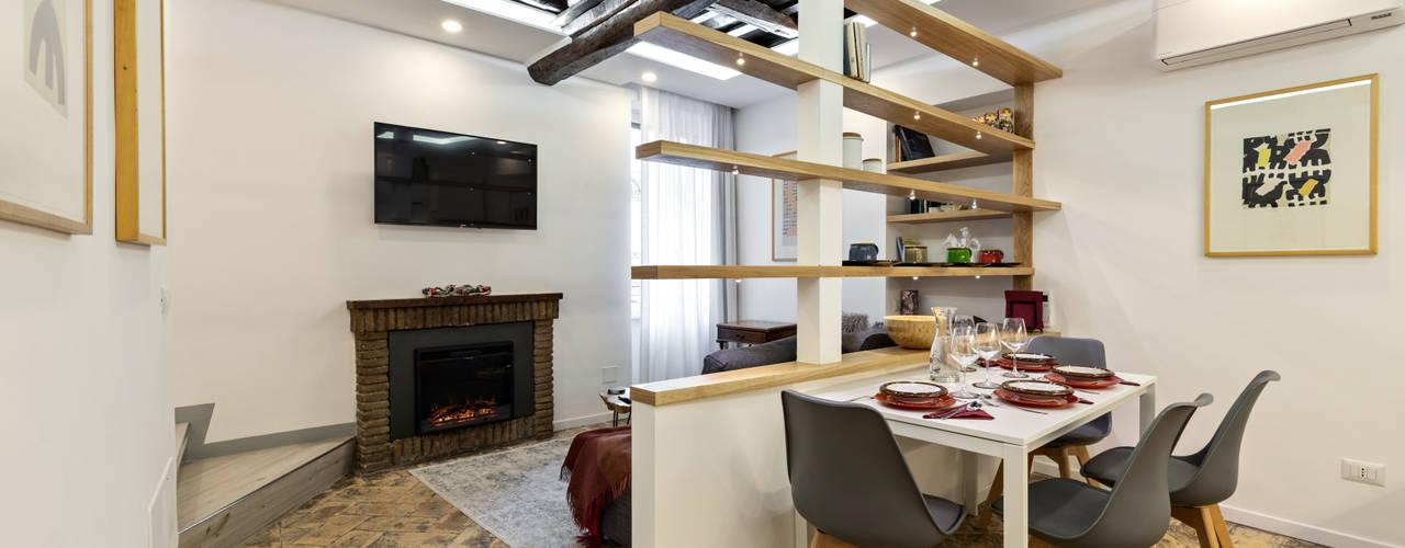 Casa dell'Artista 2 Sala da pranzo moderna di Dr-Z Architects Moderno