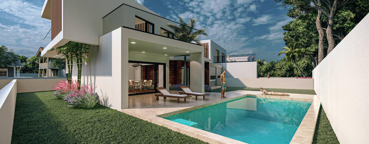 Casas Geminadas PM2 por Hugo Guerra Design