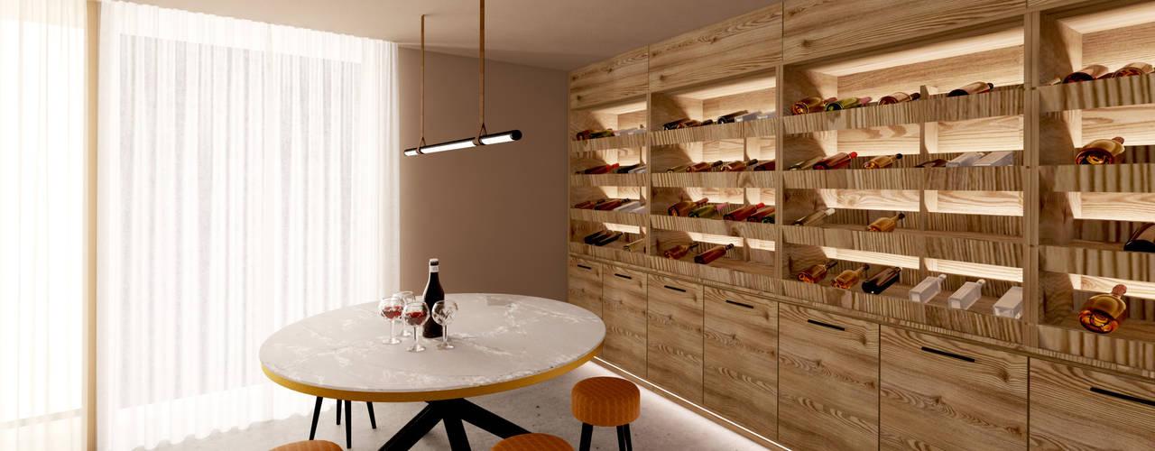 Moradia em Tagilde, Vizela - 2020 Salas de jantar modernas por MIA arquitetos Moderno