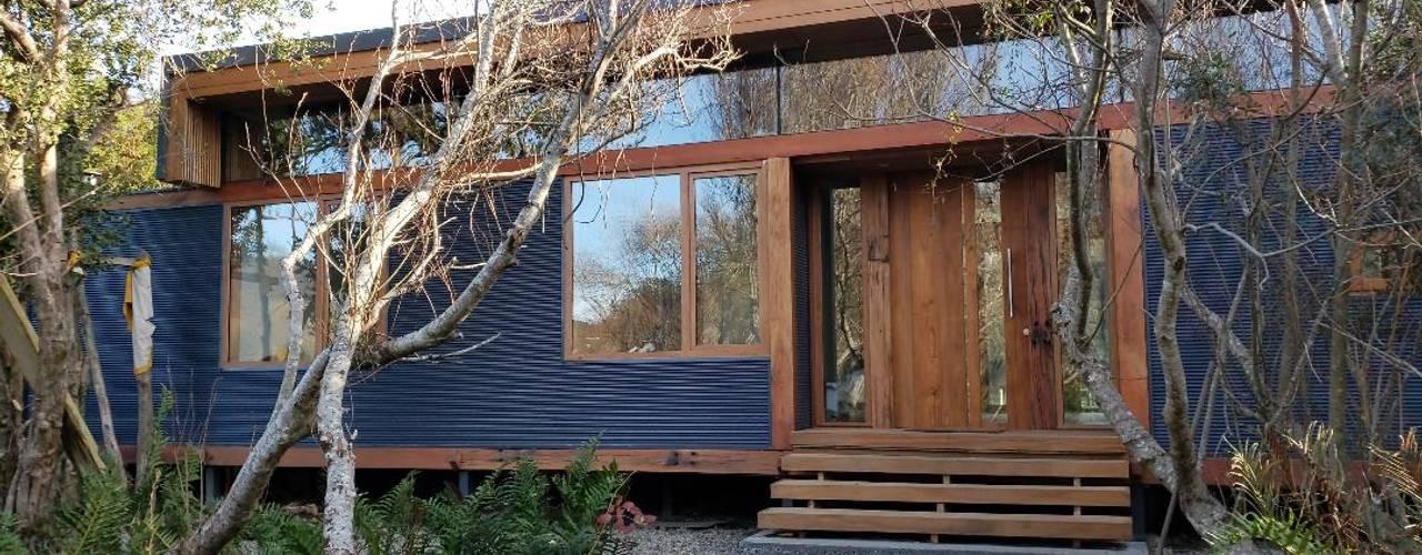 Wandersleben Chiang Soc. de Arquitectos Ltda. Wooden houses