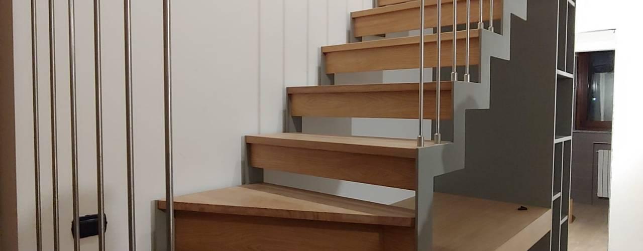 Progettazione di una scala per interni di Giorgio Gravina Moderno