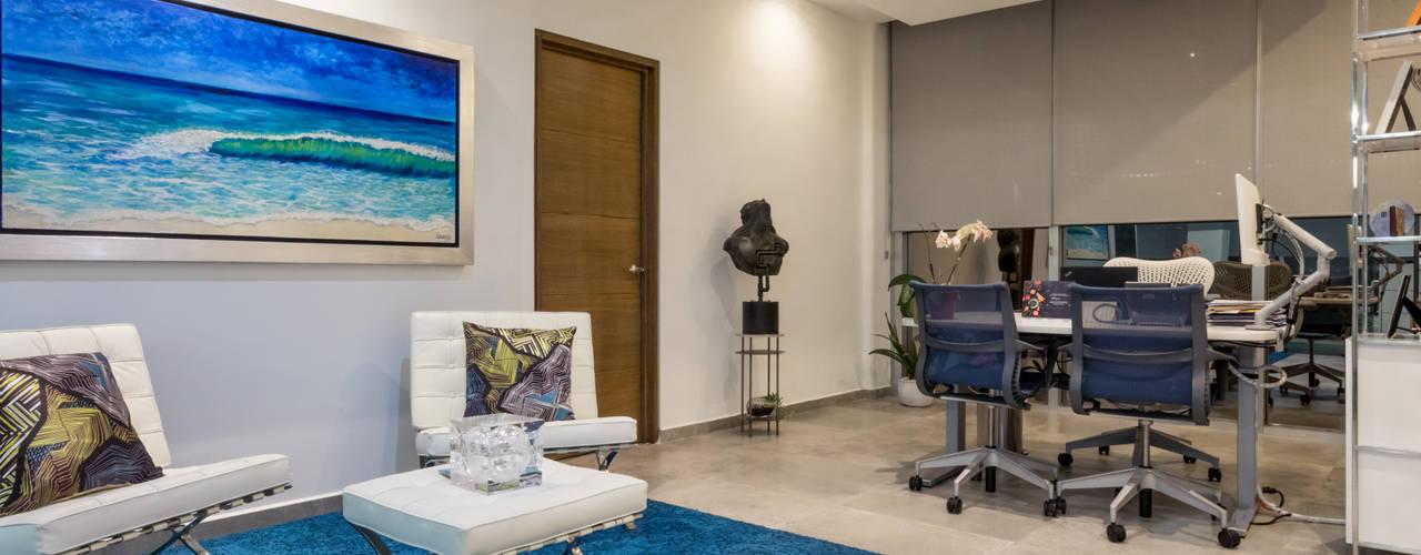 Guacamole: Oficinas privadas de Soma & Croma Moderno
