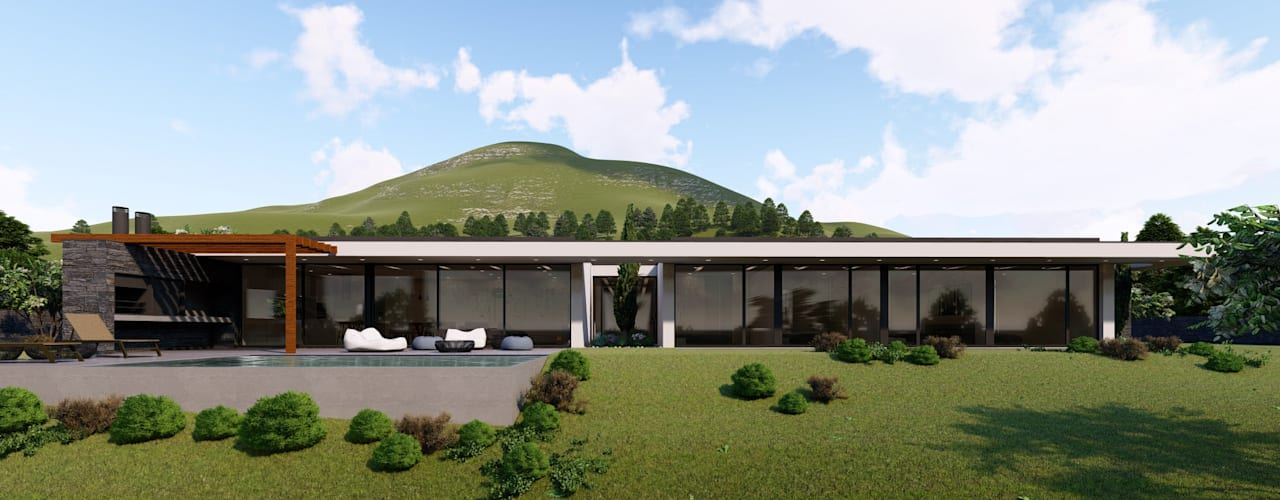 Casa da Ilha do Pico Casas mediterrânicas por Miguel Zarcos Palma Mediterrânico