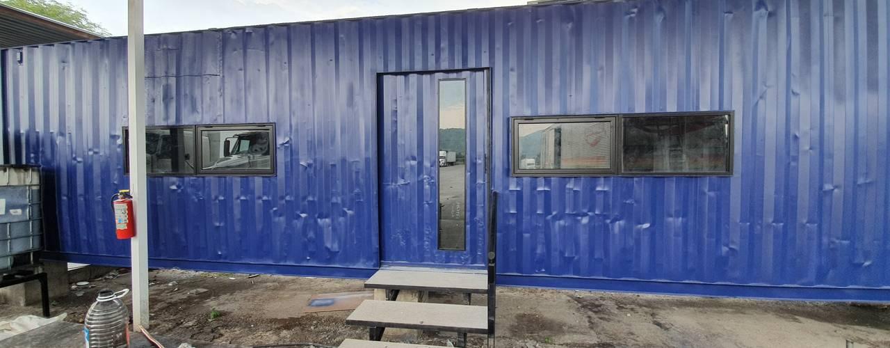 Oficina y bodegas hechas en contenedor. Estudios y despachos industriales de Arkontainers Industrial