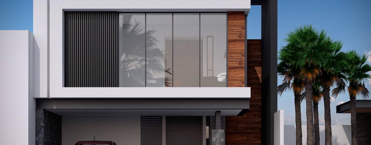 Casa PASEOS DEL SOL de Constructora OCC Moderno