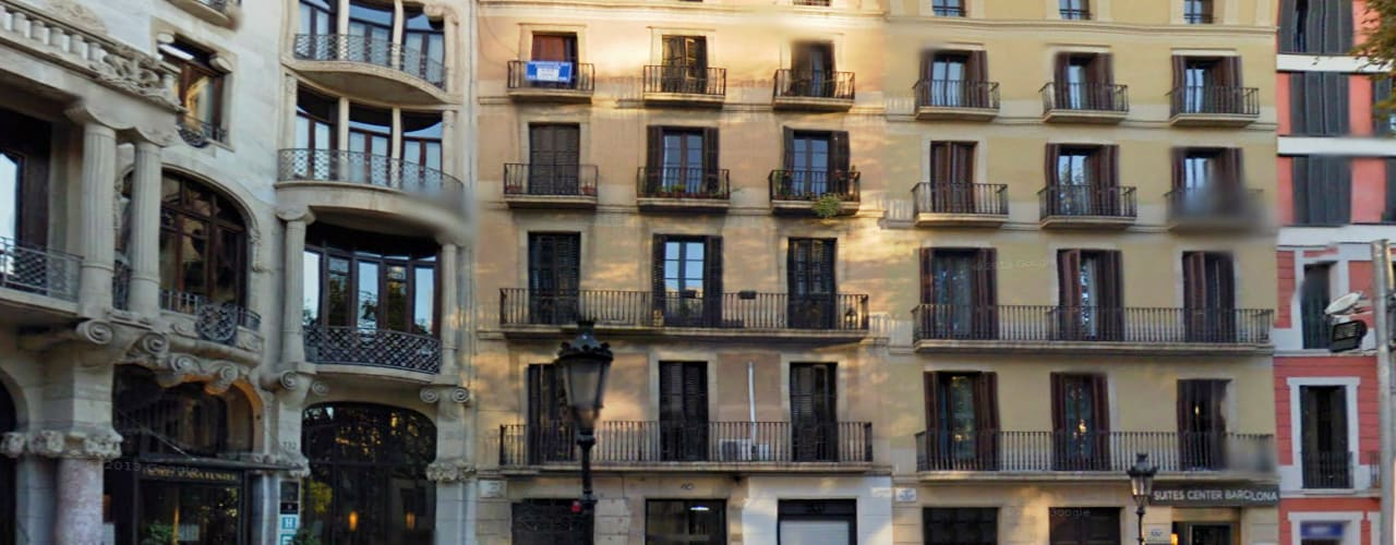 REHABILITACIÓ D'UN EDIFICI ALS JARDINETS DE GRÀCIA, 15 APARTAMENTS, (PASSEIG DE GRÀCIA 128) de FARRIOL i COL.LABORADORS arquitectes Moderno