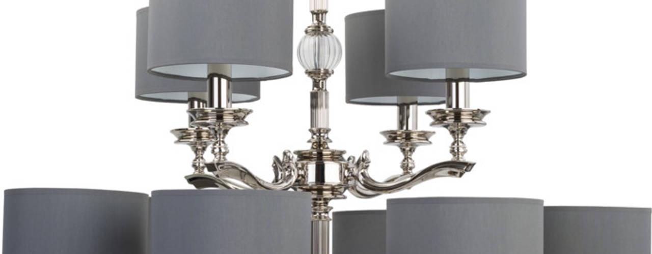 TIVOLI collection of brass lighting Luxury Chandelier Corridor, hallway & stairsLighting Copper/Bronze/Brass Metallic/Silver