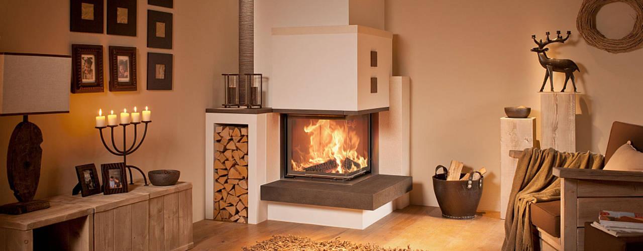 Moderner Kamin Ofen-Simon Moderne Wohnzimmer